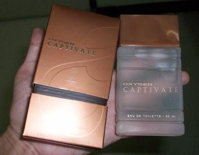 Oxygen Captivate perfume