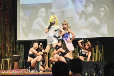 mr. gay world philippines 2010, lady gagita, haronce, telephone by lady gaga
