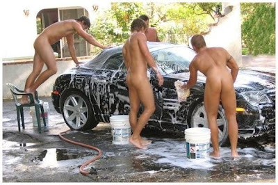 carwash, boys butt, gay