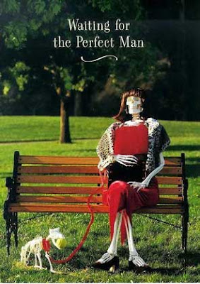 woman waiting for the perfect man