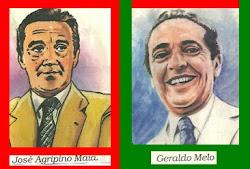 JOSÉ AGRIPINO E GERALDO MELO