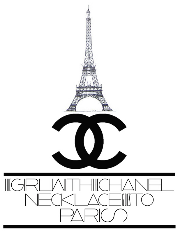 the girl with chanel goes to paris