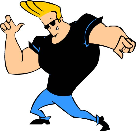 Johnny bravo the muscle cartoon clasic http carton