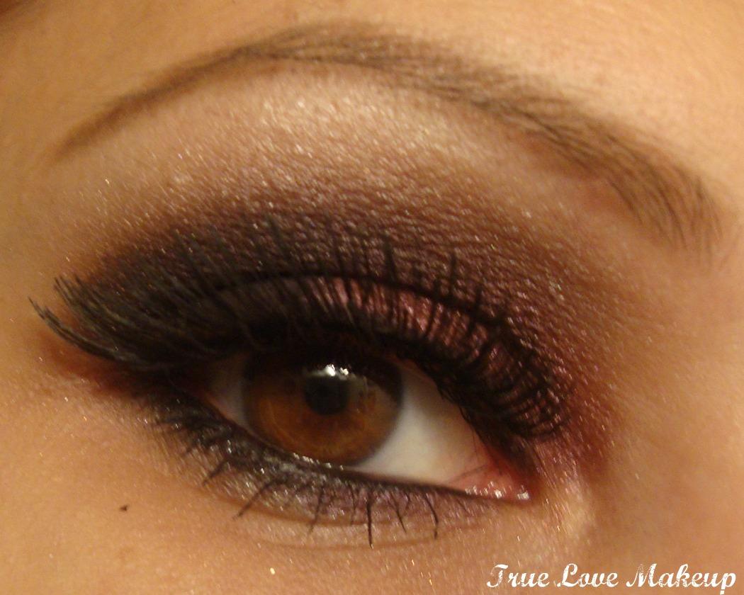 True Love Makeup Black And Red Smokey Eye Tutorial