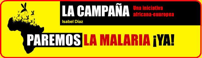 """Campaña """"Paremos la malaria ¡YA!"""""""