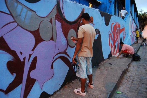 GRAFFITAGEM NO ESPAÇO 97