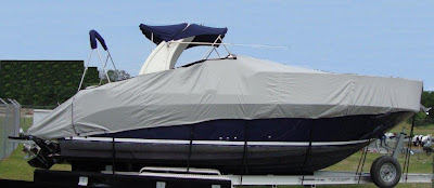 Carver Industries new boat cover accomodates radar arches, part numbers 86224P, 86225P, 86226P, 86227P, 86228P, 86229P, 86230P adn 86231P