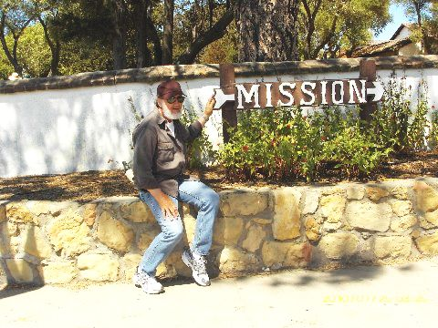 Unknown man points the way to mission...