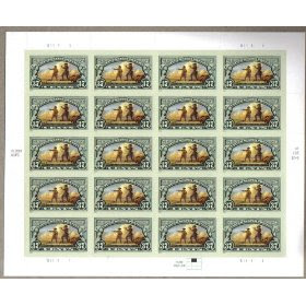 2004 THE LEWIS AND CLARK EXPEDITION #3854 Pane of 20 x 37 cents US Postage Stamps
