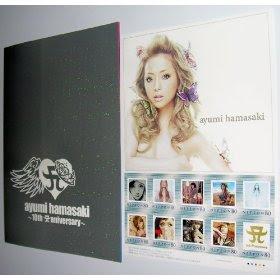 Ayumi Hamasaki 10th Anniversary Stamp Frame