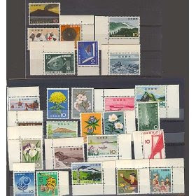 Japan 26 Stamp Topical Assortment incl. Boy Scouts MNH