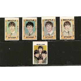 1964~BEATLES~ HALLMARK STAMPS! RARE!!!