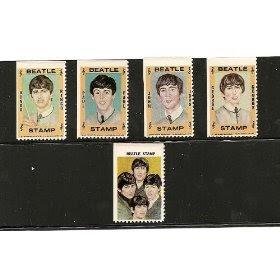 1964~BEATLES~ HALLMARK STAMPS! RARE!!!