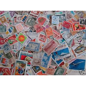 1,000 WORLDWIDE STAMPS 95% Different ALL Before 1990