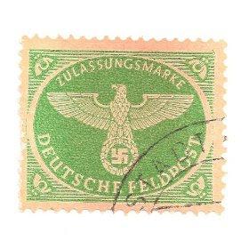 1944 German Military Parcel Post Stamp Scott No. MQ2