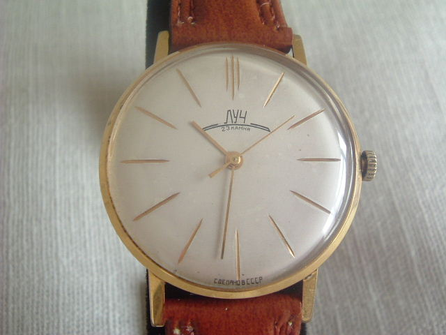 Russ/Russian Watches: Poljot & Luch Slims Received