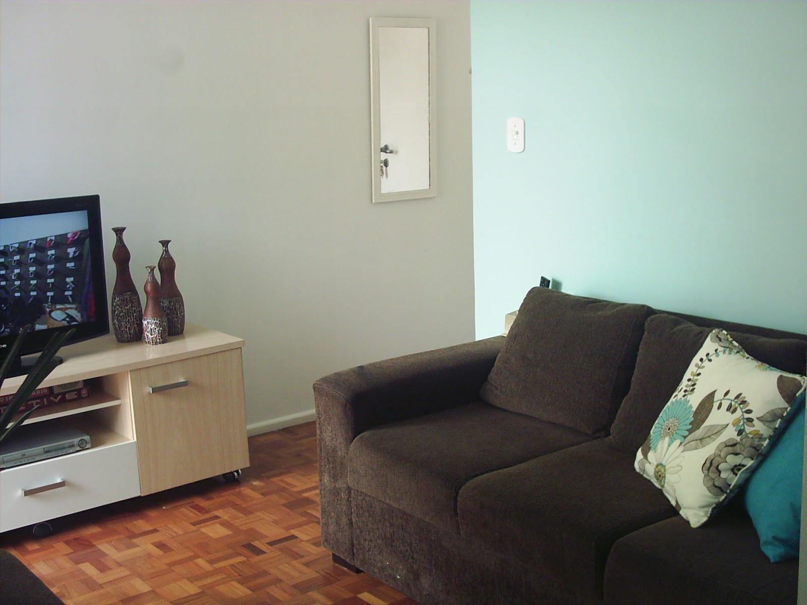 Sala Pequena Sofa Retratil ~ decoracao de sala sofa marromENTRE E SINTASE EM CASA Decorando com