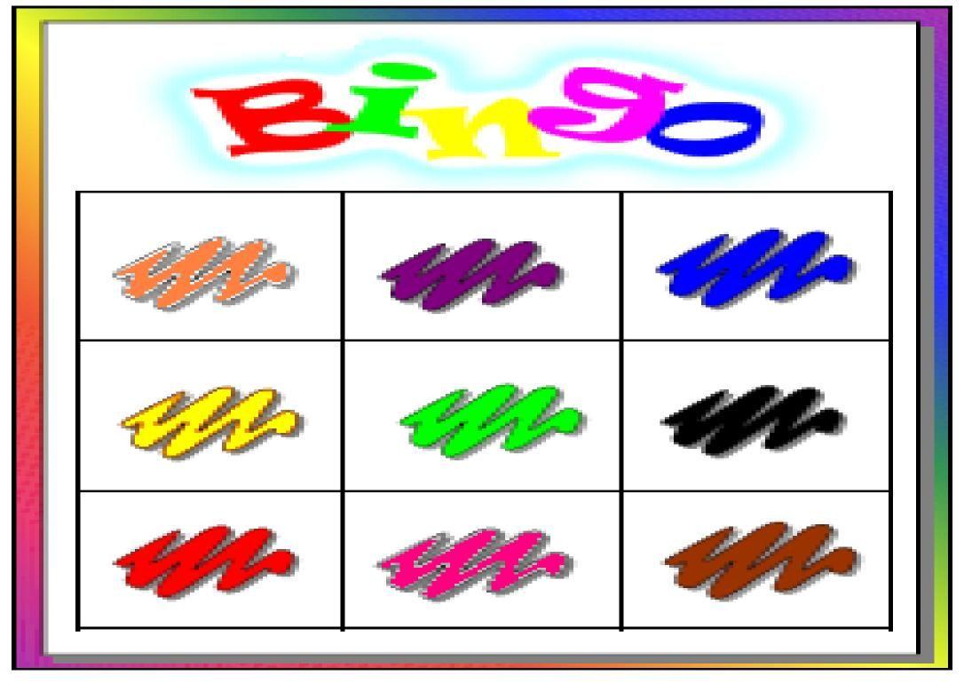 colores infantil: