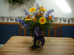 My  20 year anniversary flowers they were much more beautiful in person
