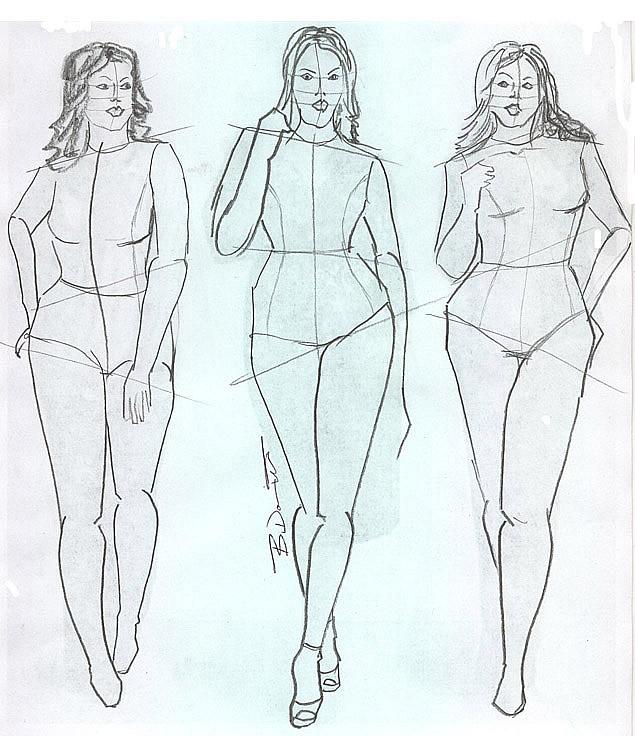 The purpose Plus size fashion croquis templates final, sorry
