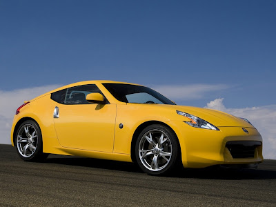 2009 Nissan 370Z Yellow