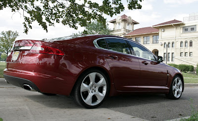 2009 Jaguar XF Supercharged_rear