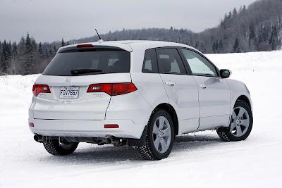 2009 Acura RDX rear