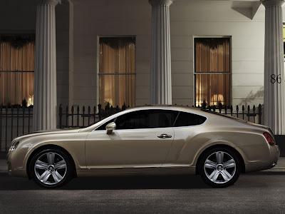 2009 Bentley Continental GT side