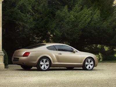 2009 Bentley Continental GT rear