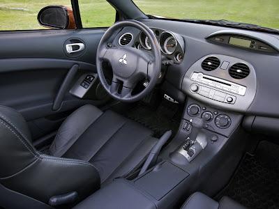 2009 Mitsubishi Eclipse Spyder GT interior