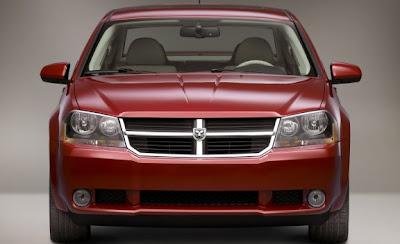 2009 Dodge Avenger front