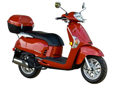 scootermatic Kymco Like 50 2010