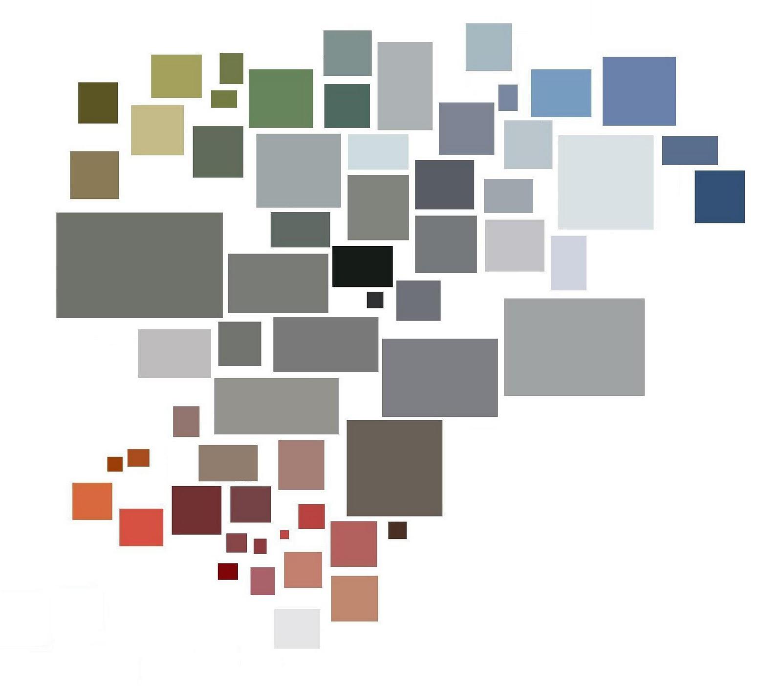 Ar1a elkiegoos blok 3 licht en kleurgebruik - Koele kleuren warme kleuren ...