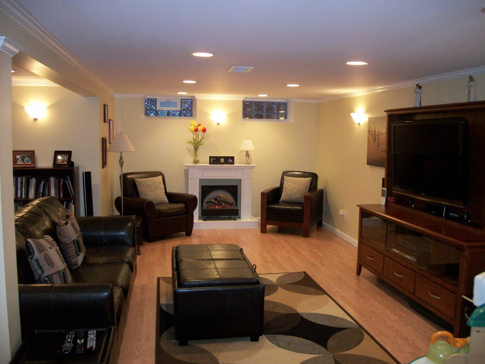 Madison heights home full finished basement for Full finished basement