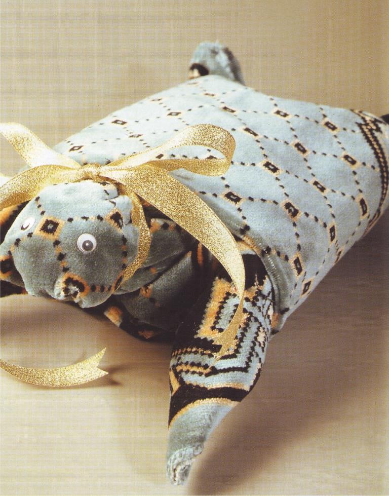 Membuat Antaran Pengantin - Cara Membuat Kura-kura dari Sajadah