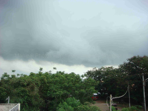 Manipal Monsoon Photo; The Monsoon sets in over Manipal