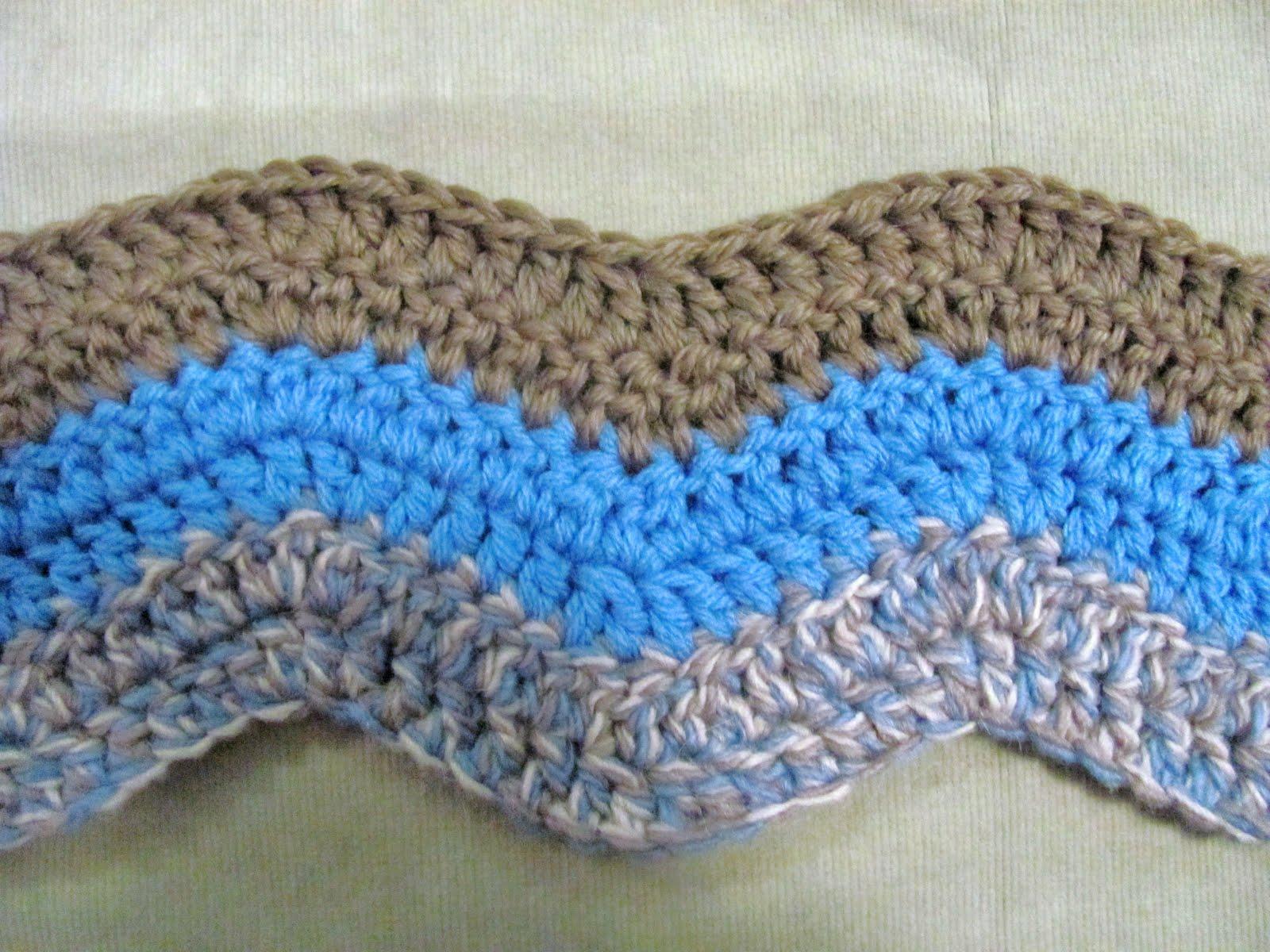 Single crochet ripple afghan pattern free squareone for crochet ripple pattern crochet projects single crochet ripple afghan pattern free bankloansurffo Images