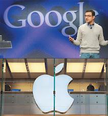 Google蘋果之戰 愈演愈烈