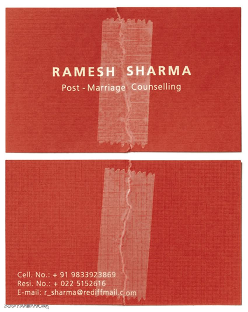 Ashok\'s Blog: Unusual Business Cards