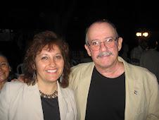 Silvio Rodríguez y Cecilia Palma