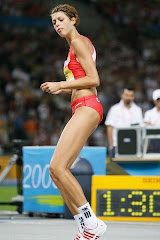 High Jump Golden Girl