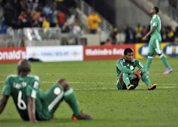 Super Eagles Suspended from international football events
