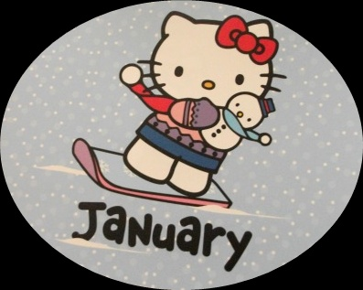 hello kitty january calendar 2011. hajati di tahun 2011 akan
