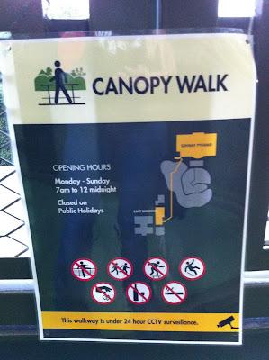 Posted ... & Joo Ling: Sun-U Canopy Walk