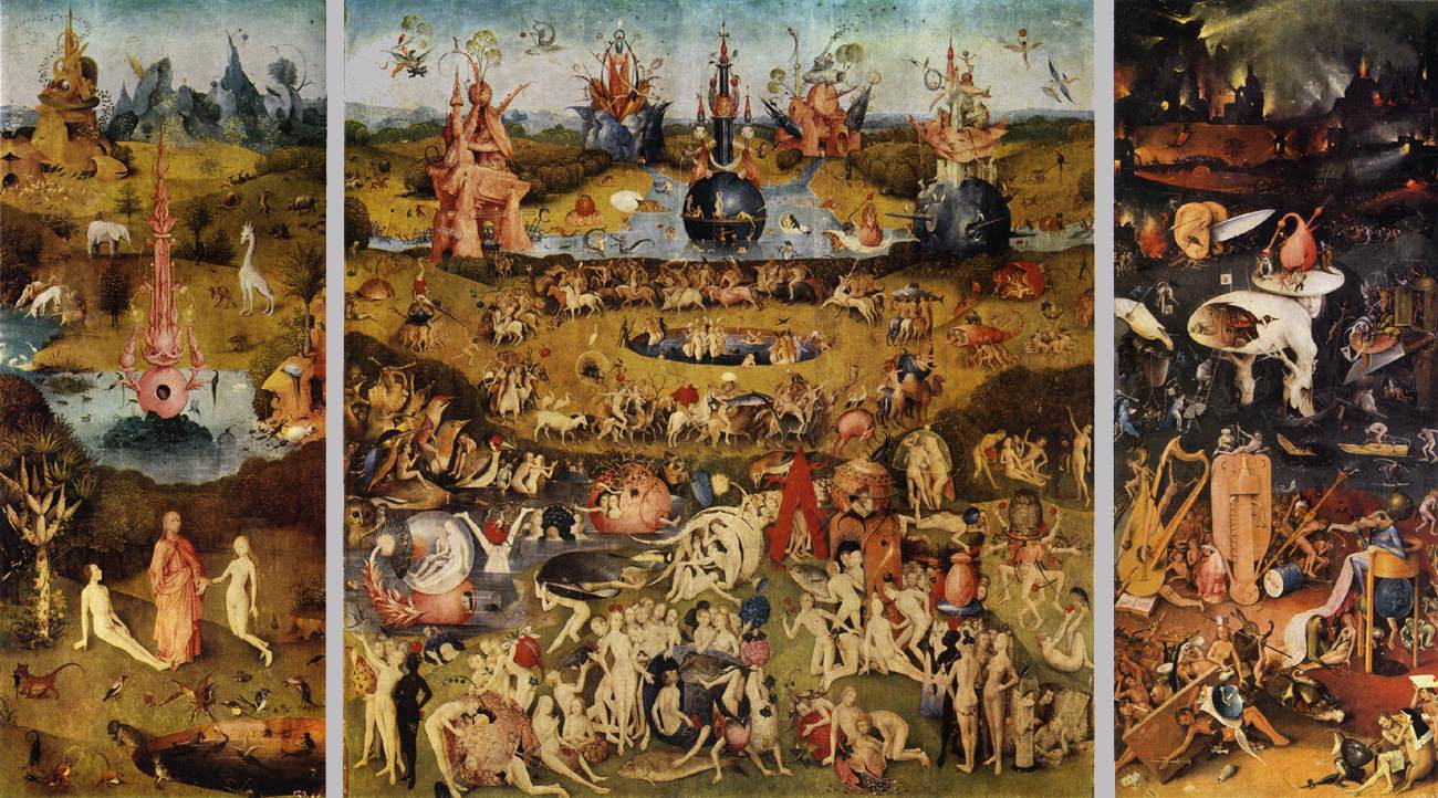 Todo arte pintura g tica flamenca el bosco - Jardin infierno ...