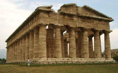 Todo arte arquitectura griega de la etapa arcaica del for Arquitectura griega templos