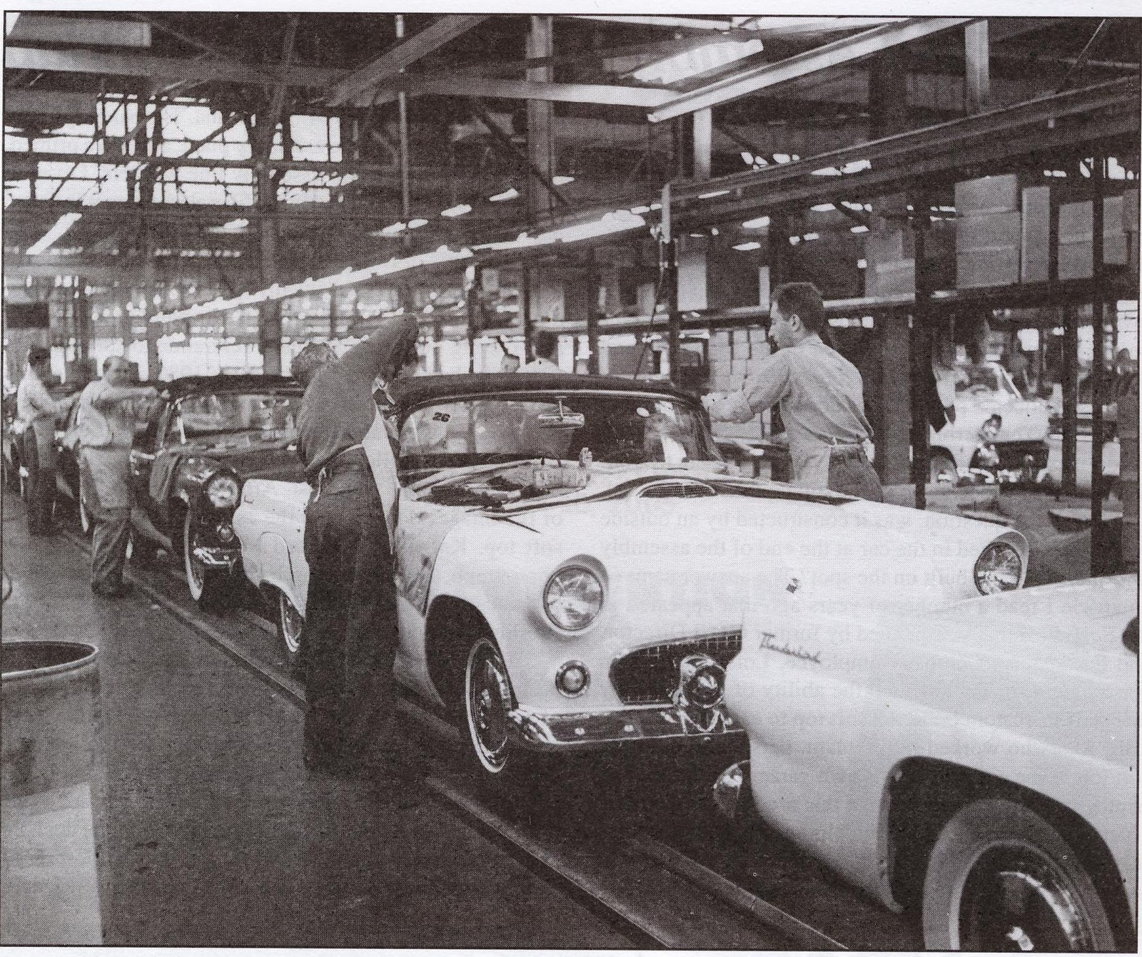 Fortuna Classic Dearborn Assembly Plant Photos