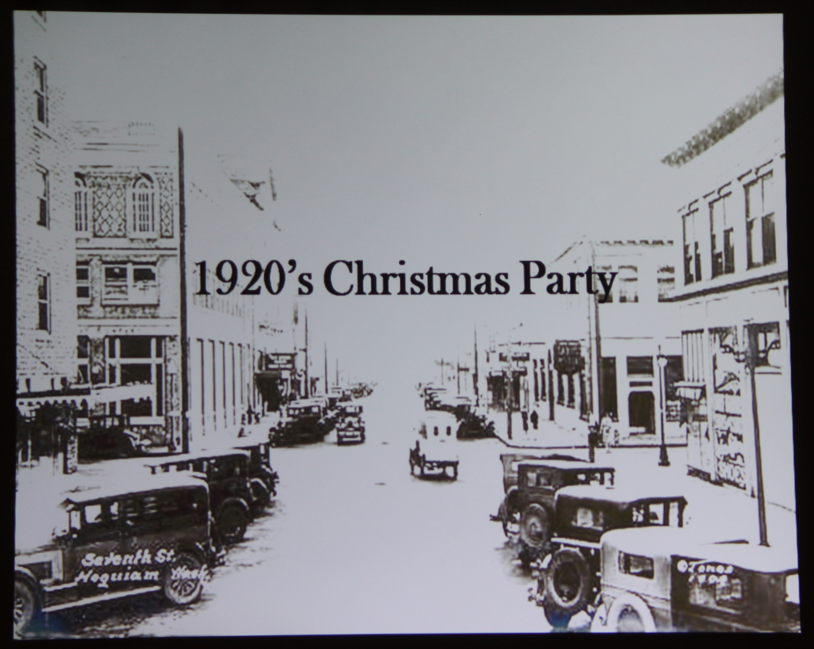 offshore cpa: 1920s Christmas party