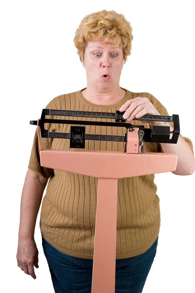 ... in middle-aged and older women ONLY IF THEY ARE ALREADY AT IDEAL WEIGHT.