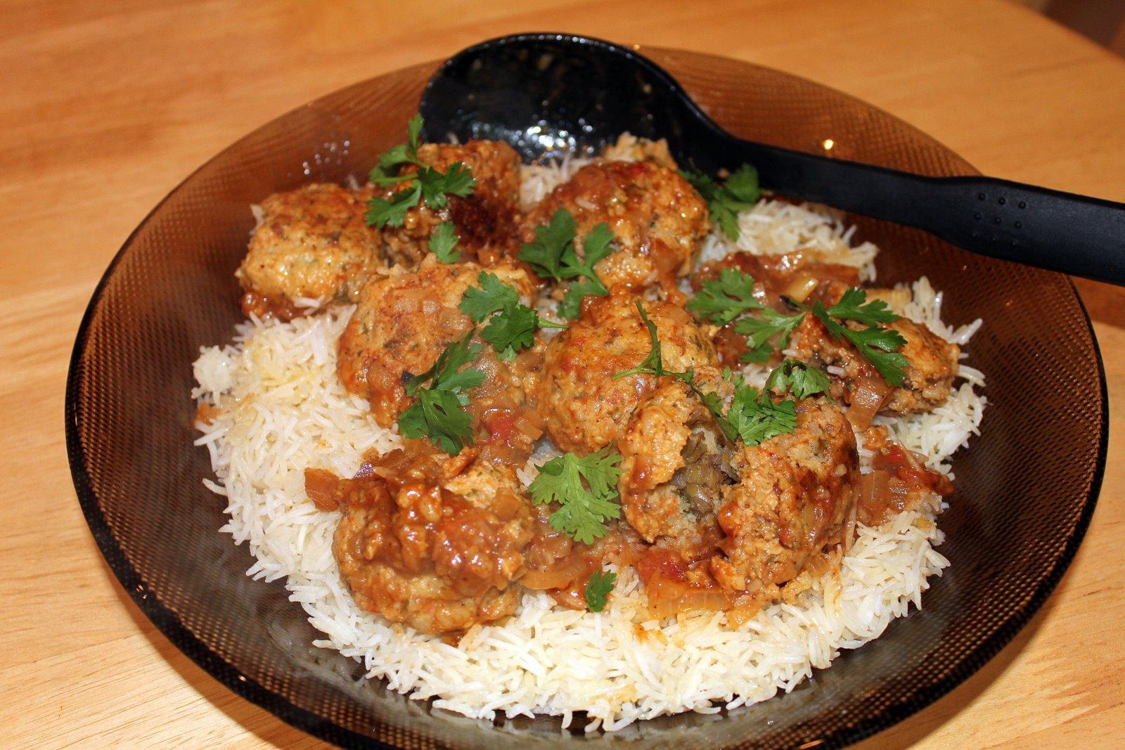 Cooking the Globe: Chebeh Rubyan (Prawn Balls)